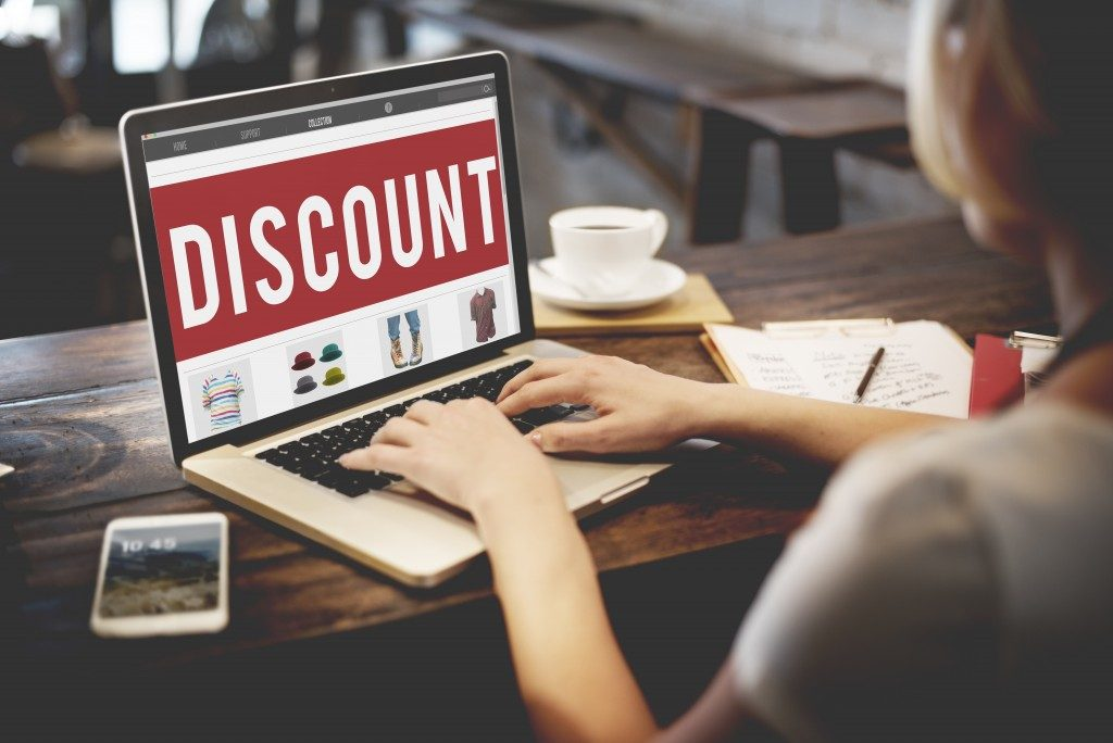 Discount promotion in online shopping site
