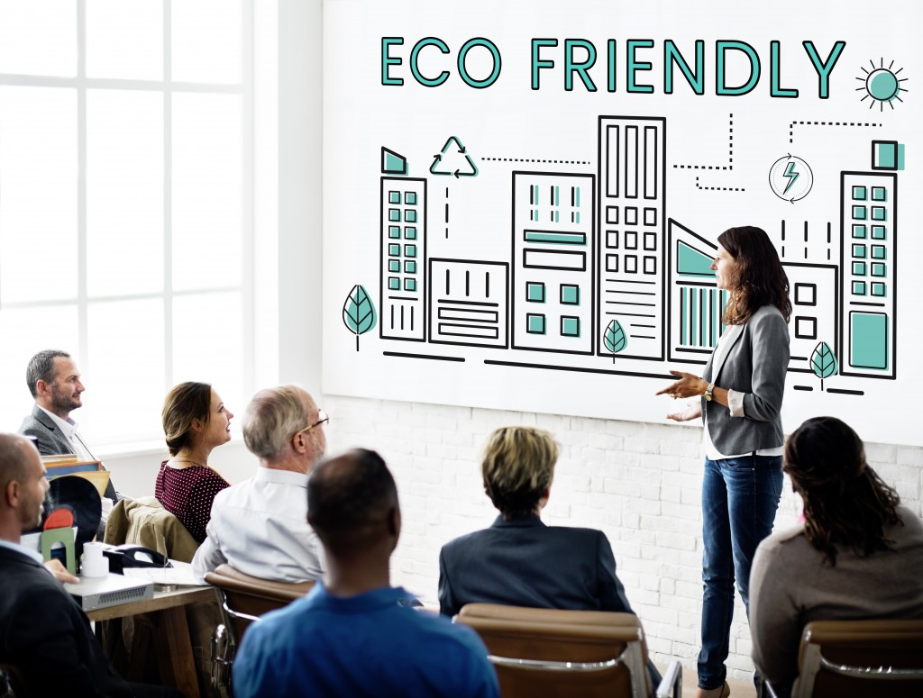 meeting about eco friendliness