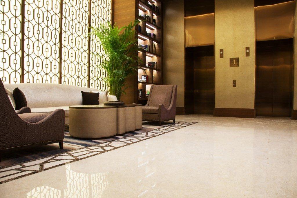 luxurious lobby design