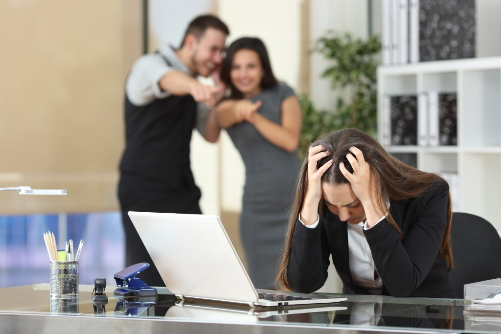 workplace gossip and bullying