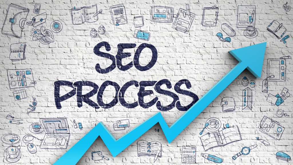 SEO Process illustration