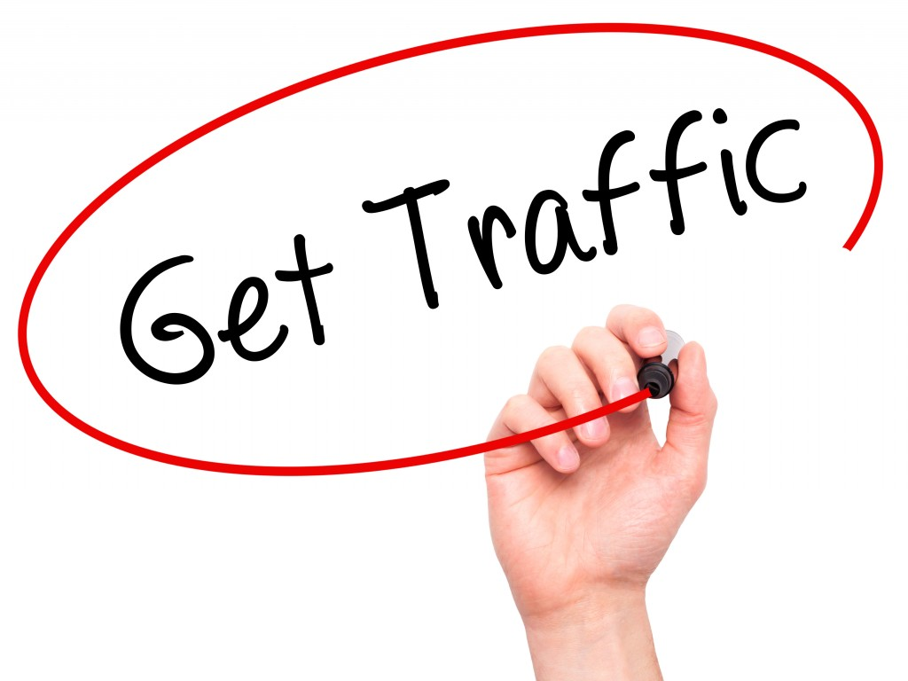 get traffic concept
