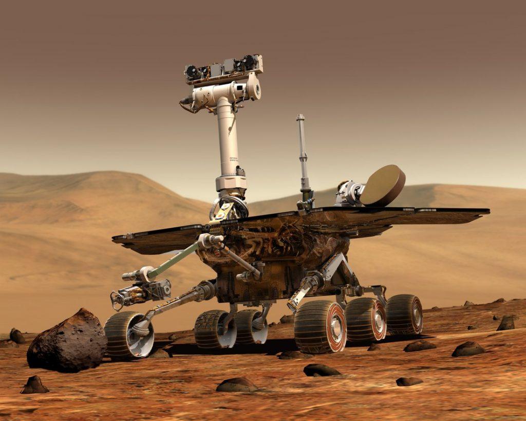 rover in mars