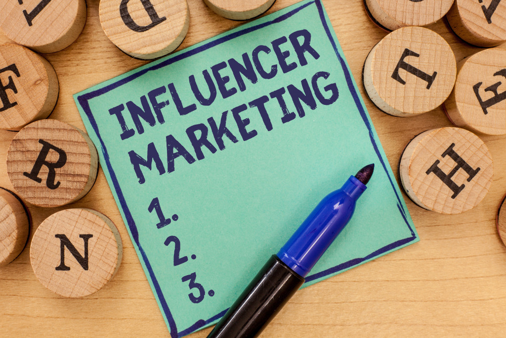 influencer marketing list