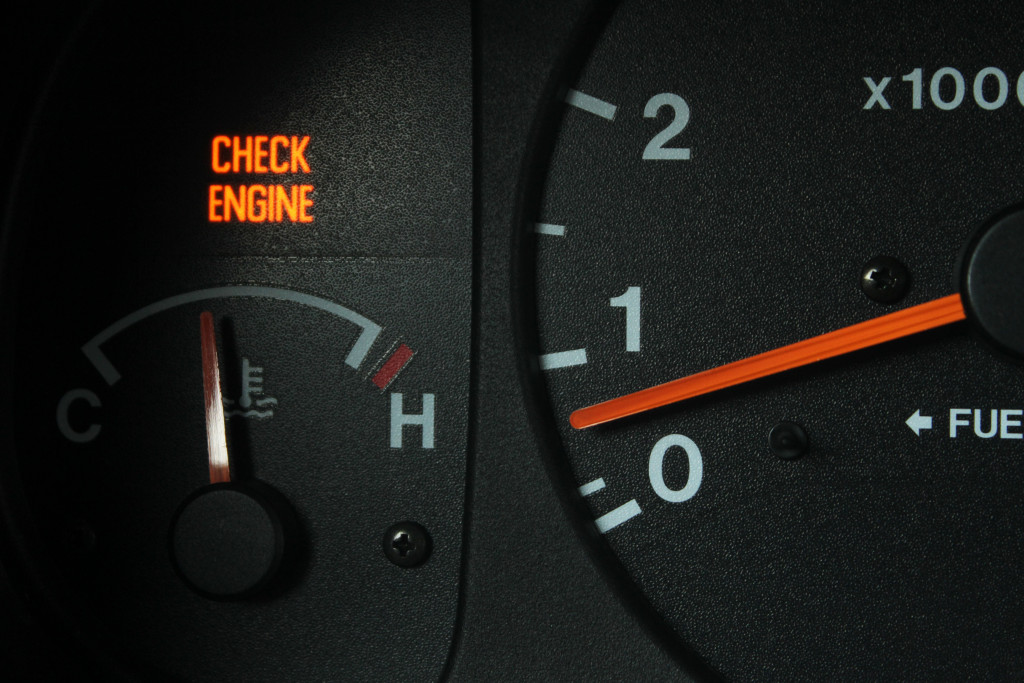check engine concept