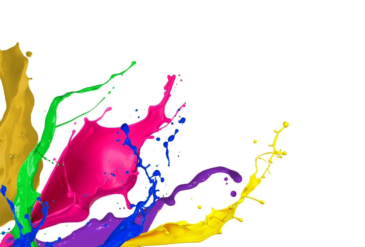bright colors concept