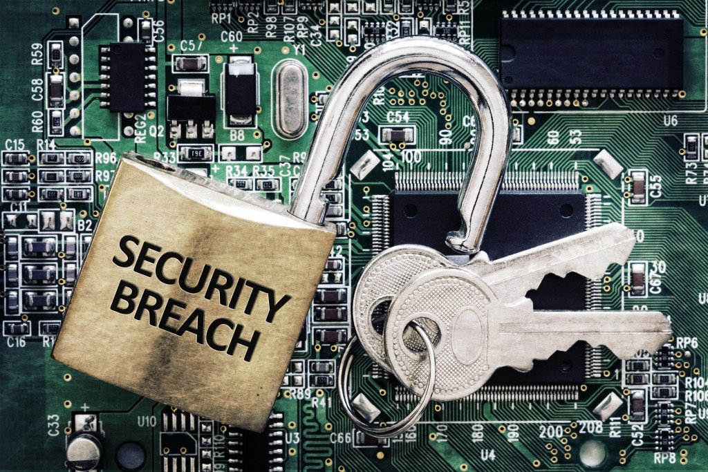 security breach - hack