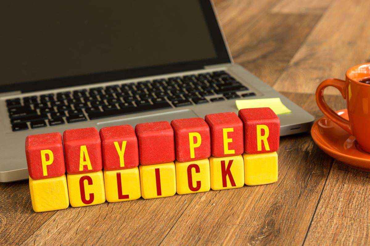 pay per click letter blocks